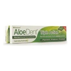 Pasta dental - Dentrifici Aloedent triple action Madal Bal - Evicro 100 ml.