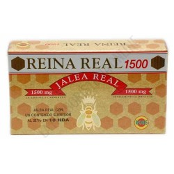 Reina Real 1500 Jalea Real Robis 20 Ampollas