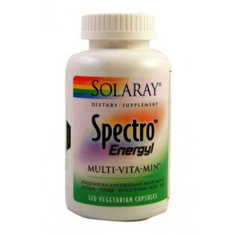 SPECTRO ENERGY ! MULTI - VITA - MIN. SOLARAY. 120 Cápsulas