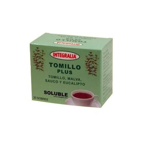 TOMILLO PLUS SOLUBLE. FARIGOLA. INTEGRALIA. 20 sobres.