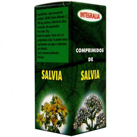 SÀLVIA. INTEGRALIA. 60 comprimits de 500 mg.