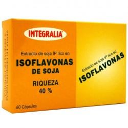 ISOFLAVONAS DE SOJA. INTEGRALIA. 60 cápsulas.