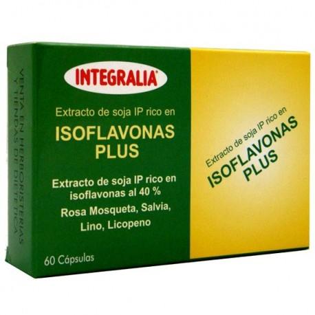 ISOFLAVONES PLUS. INTEGRALIA. 60 càpsules.