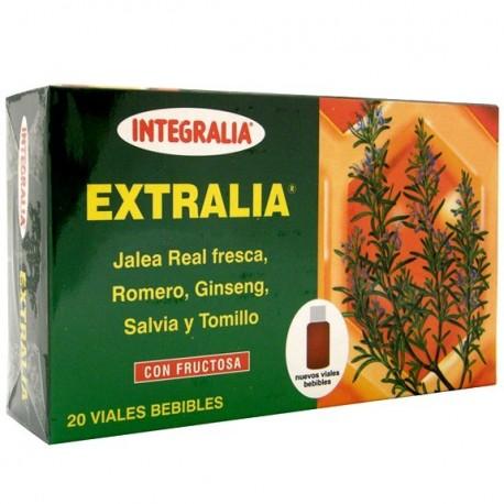 EXTRALIA. JALEA REAL + GINSENG. VIALES. INTEGRALIA