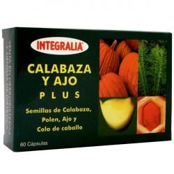 Calabaza y Ajo Plus Integralia 60 cápsulas