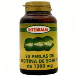 LECITINA DE SOJA IP. INTEGRALIA. 90 perlas de 1200 mg.