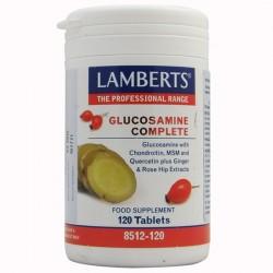 GLUCOSAMINA COMPLETA. LAMBERTS. 120 comprimidos.