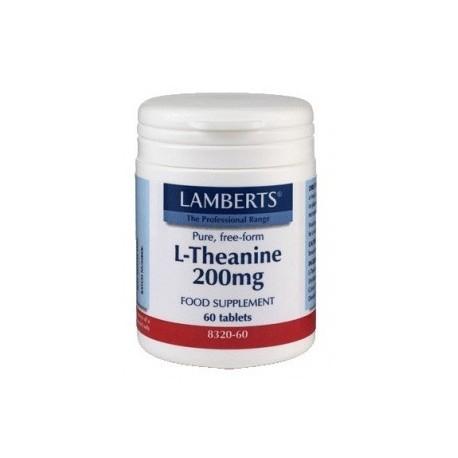 L - TEANINA. 200 mg.LAMBERTS. 60 tabletas.