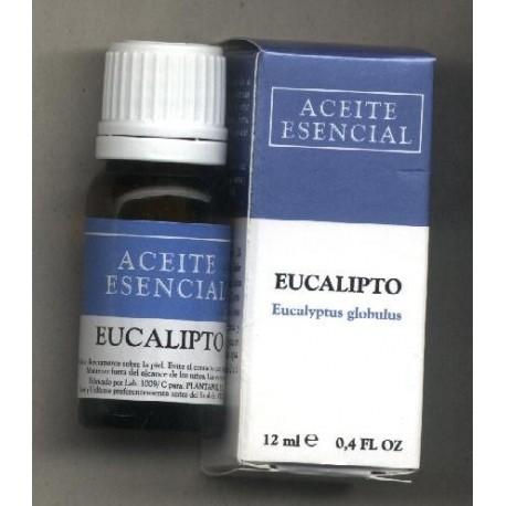 EUCALIPTO. Eucaliptus globulus. ACEITE ESENCIAL. PLANTAPOL. 12 ml.