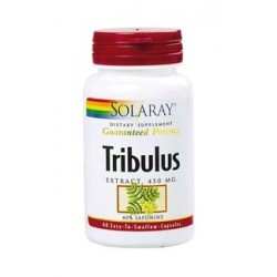 Tríbulus extracte 450 mg. Solaray 60 càpsules