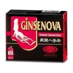 Ginsenova Ginseng Coreano Rojo raiz de 6 años Novadiet 60 cápsulas