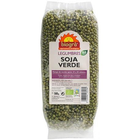 SOJA VERDE BIOGRÀ - SORRIBAS 500 g.