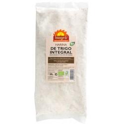 Harina de trigo integral Biogrà - Sorribas 500 g.