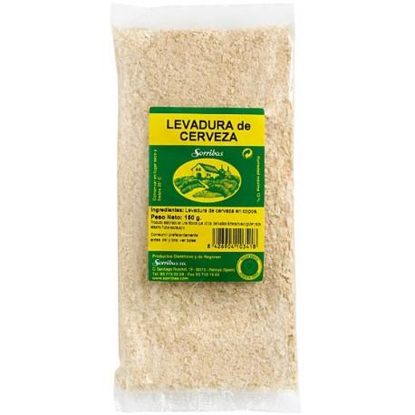 LLEVAT DE CERVESA FLOCS SEGELL VERD SORRIBAS 150 g.