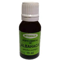 Aceite Esencial De Albahaca Eco Ocimum Basilicum L. Integralia 15 ml.