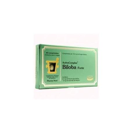 BILOBA FORTE ACTIVE COMPLEX PHARMA NORD 60 comprimidos