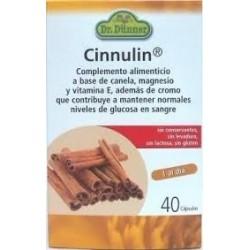 CINNULIN CANELA DR. DÜNNER 40 cápsulas