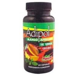 Adipol Mango Africano Té Verde Cromo Plantapol 60 cápsulas