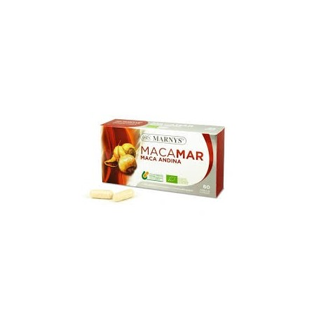 MACAMAR MACA ANDINA BIO Lepidium peruvianum MARNYS 60 càpsules