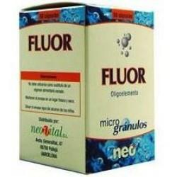 Fluor oligoelement Neo 50 microgrànuls càpsules