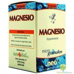 Magnesio oligoelemento en microgránulos Neo 50 cápsulas