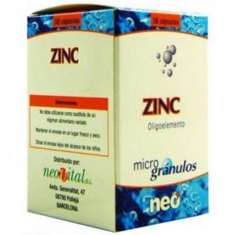 Neo Zinc Microgrànuls 50 càpsules