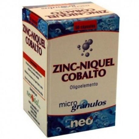 Neo Zinc-Níquel-Cobalt Microgrànuls 50 càpsules