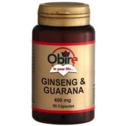 Ginseng & Guaranà Obire 400 mg. 90 càpsules