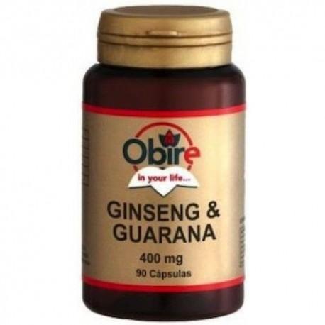 Obire Gingseng y Guaraná 90 Cápsulas