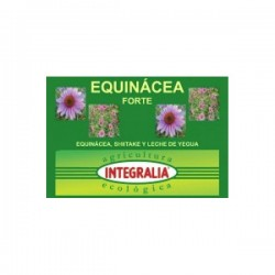 Equinácea Forte Equinàcia, Shiitake i Llet d'euga Integralia 60 càpsules