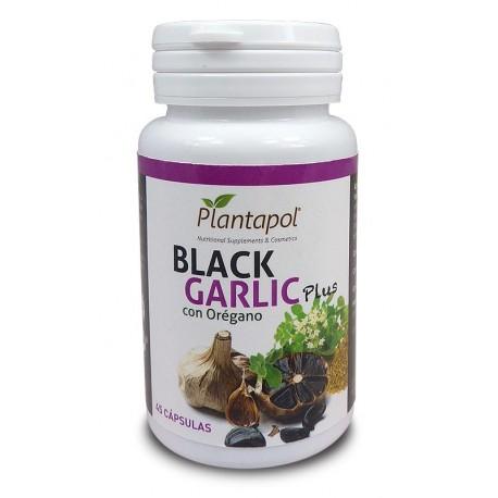 BLACK GARLIC PLUS con Orégano 45 cápsulas PLANTAPOL