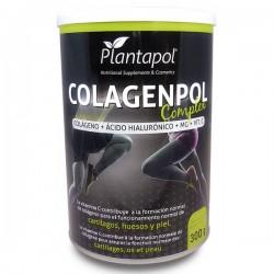 Colagenpol Complex colágeno, magnesio, ácido hialurónico, vit. C Plantapol 300 g.