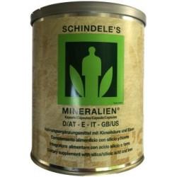 Schindele's Mineralien 500 cápsulas