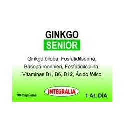 GINKGO SENIOR INTEGRALIA 30 cápsulas