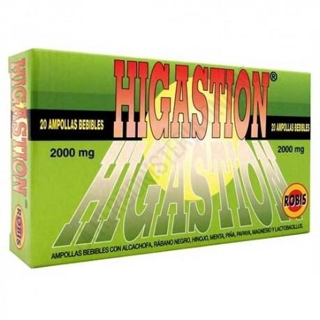 HIGASTION ROBIS 20 ampollas