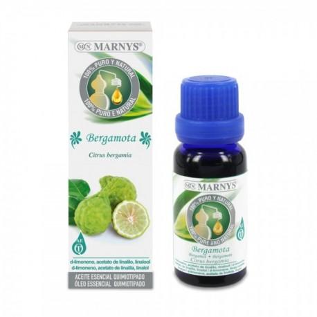 BERGAMOTA Oli essencial 100 % (Citrus auratium bergamia) MARNYS 15 ml.