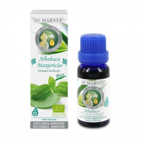 ALFÀBREGA Ocium basilicum Oli essencial MARNYS 15 ml.