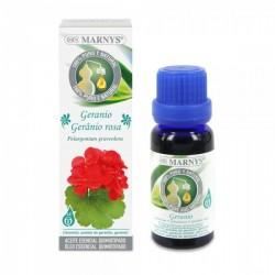 Aceite Esencial de Geranio ( Pelargonium Graveolens ) Marnys 15 ml.
