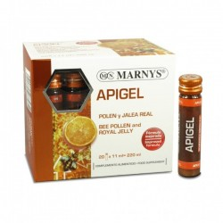 APIGEL POL·LEN I GELEA REIAL MARNYS 20 vials x 11 ml.