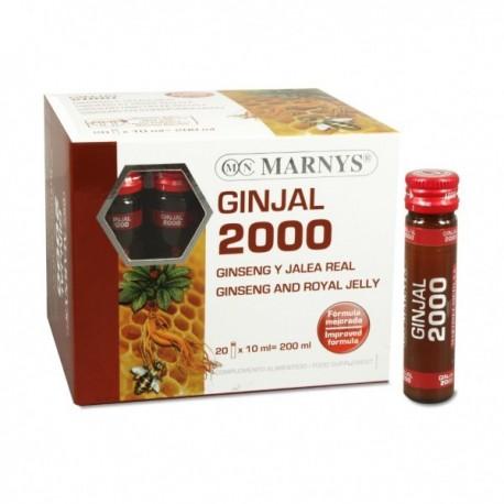 GINJAL 2.000 mg MARNYS 20 viales x 10 ml