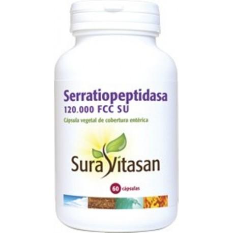 SERRATIOPEPTIDASA SURA VITASAN 60 càpsules