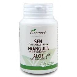 Sen Frángula Aloe y Fos Plantapol 100 comprimidos