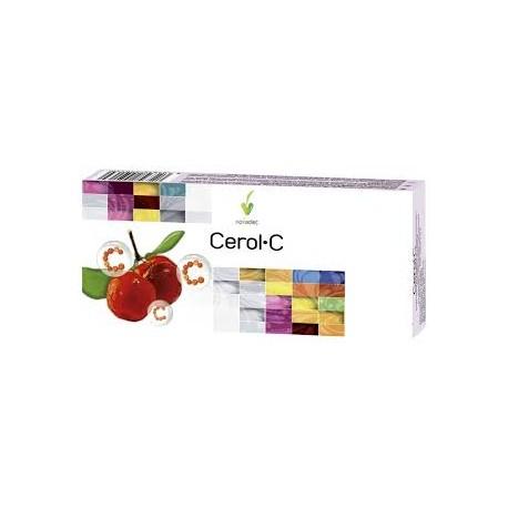 CEROL · C. ACEROLA - 500. NOVA DIET. 30 comprimidos masticables.