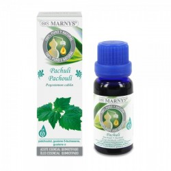 Pachuli Aceite esencial Marnys 15 ml.