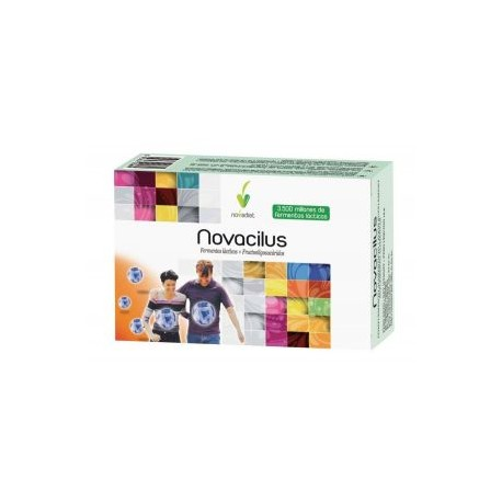 NOVACILUS Ferments làctics + frutooligosacàrids NOVA DIET 30 càpsules