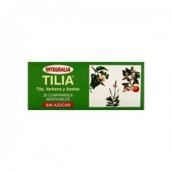 TILIA TIL·LA SENSE SUCRE INTEGRALIA 20 comprimits