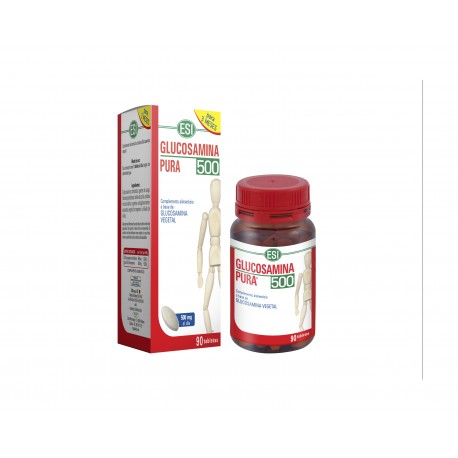 GLUCOSAMINA 500 TREPAT DIET 90 tabletas de 500 mg.