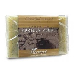 Jabón de arcilla verde Plantapol pastilla de 100 g.