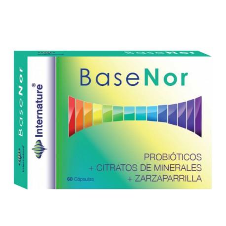 BASENOR INTERNATURE PROBIÓTICS + CITRATS DE MINERALS + ARÍNJOL 60 càpsules