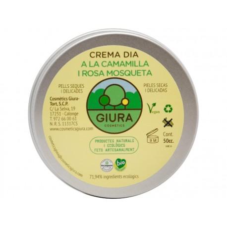 CREMA DE DIA A LA MANZANILLA 50 cc.GIURA
